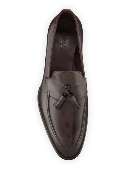 Men's Aurland Leather Tassel Loafer