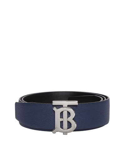 Men's Reversible TB Logo Belt