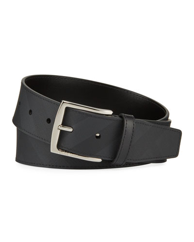 Men's Signature Check Belt
