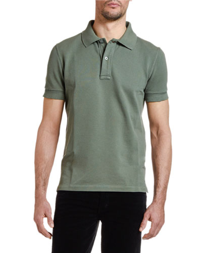 0a01cc83ee8 Designer Polo Shirts : Long-Sleeve & Short-Sleeve at Bergdorf Goodman