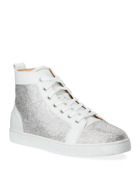 Men's Louis Crystal Red Sole Sneakers