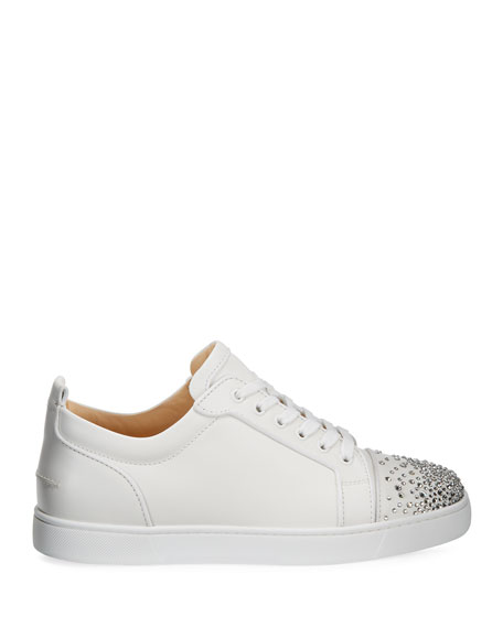 Men's Louis Junior Crystal-Embellished Leather Sneaker