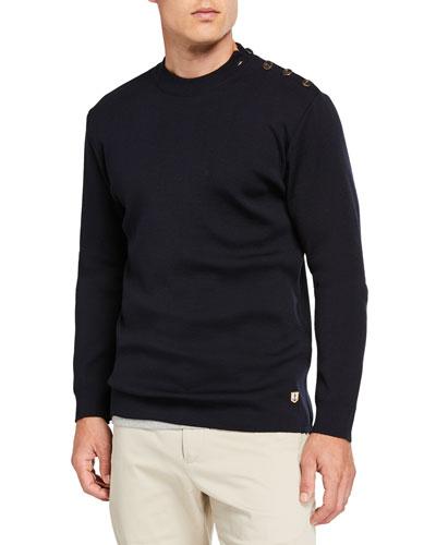 24b3ae5ae34 Men's Sweaters & Sweatshirts : Crewneck Sweater at Bergdorf Goodman