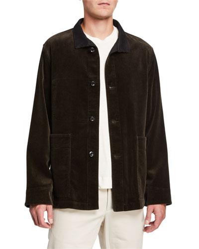 Men's Corduroy Shirt Jacket