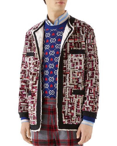 3410373c58471 Gucci Men's Clothing : Shirts & Jackets at Bergdorf Goodman