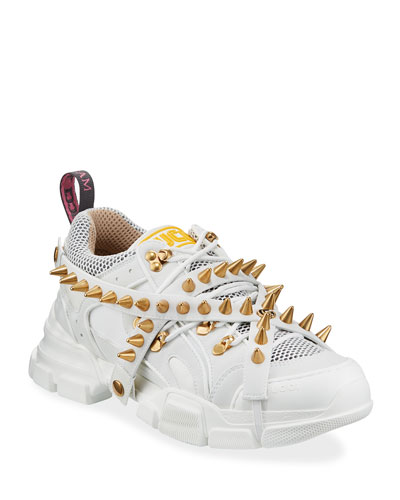 Men's Flashtrek Sneakers with Removable Spikes