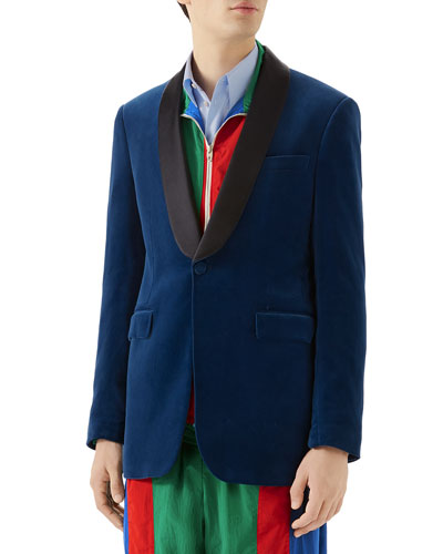 eaba08f9b Gucci Men's Clothing : Shirts & Jackets at Bergdorf Goodman