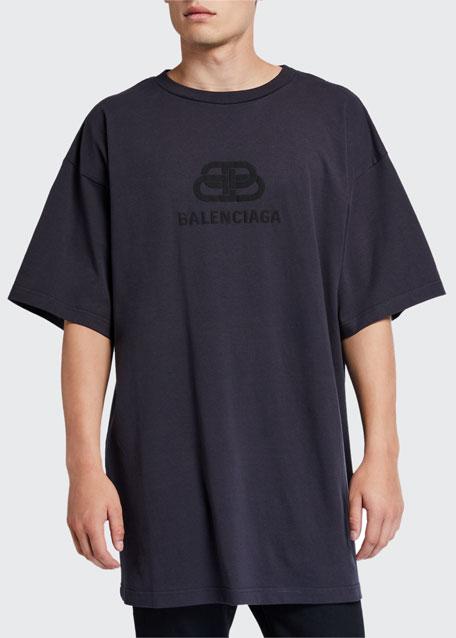8b07df63419 Men's Oversized Washed BB Logo T-Shirt