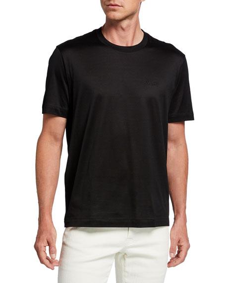 Men's Solid Cotton T-Shirt