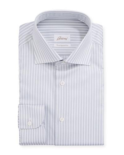 9d15e14e Men's Ventiquattro Striped Dress Shirt Quick Look. Brioni