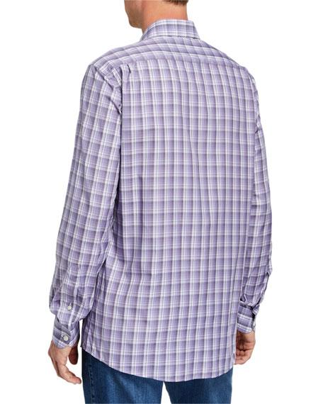 Men's Cento Quaranta Plaid Sport Shirt