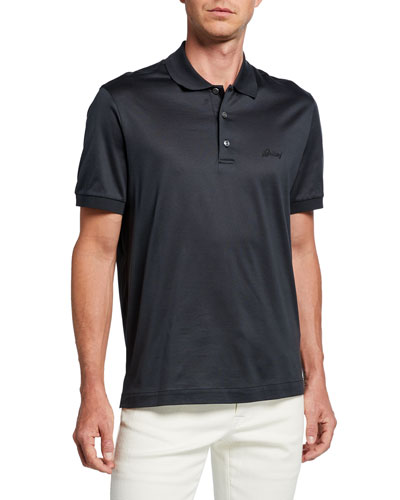 88bef318e4c Men's 3-Button Cotton Polo Shirt Quick Look. Brioni
