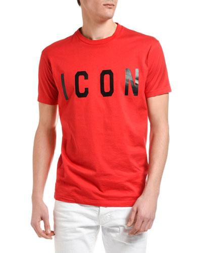 Men's Icon Typographic T-Shirt