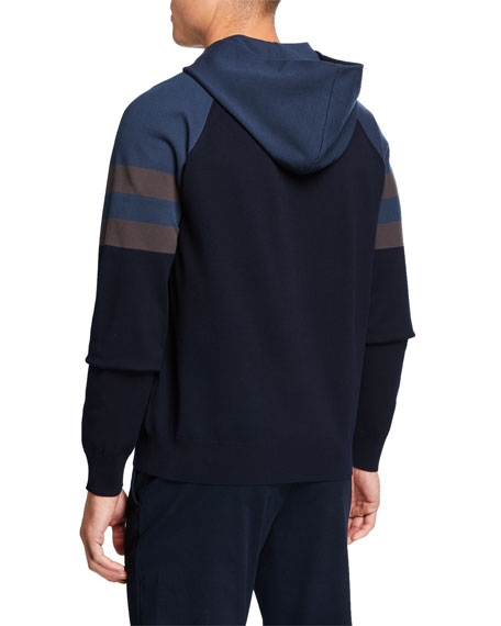 Men's Colorblock Tech Jersey Hoodie