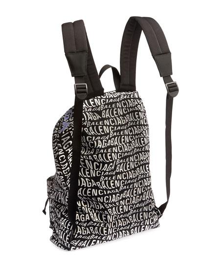 Men's Logo-Print Backpack