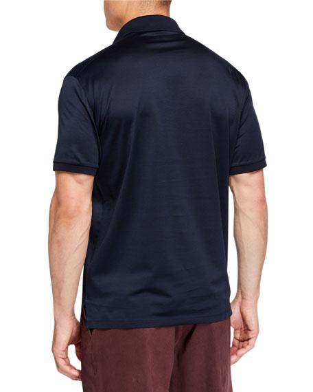7ec21901 Men's Pique Polo Shirt Navy