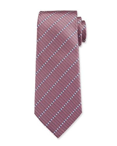 Men's Stitched Stripe Tie