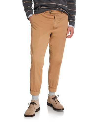 Men's Basic-Fit Chino Pants