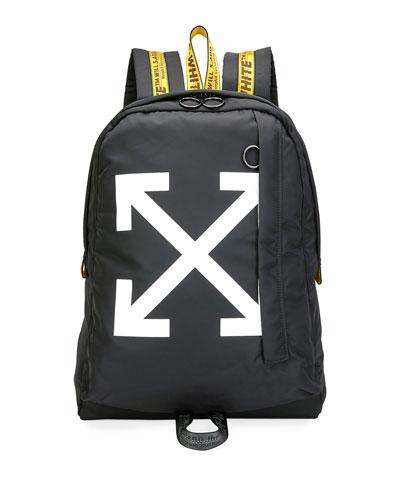 Men's Easy Arrow Nylon Backpack