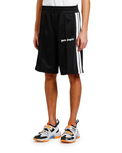 Men's Side Stripe Track Shorts