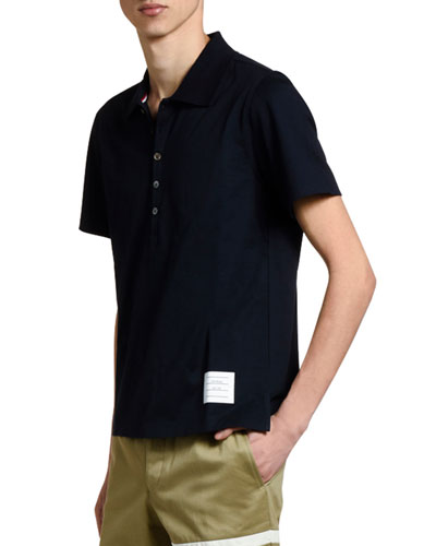 Men's Relaxed-Fit Polo Shirt