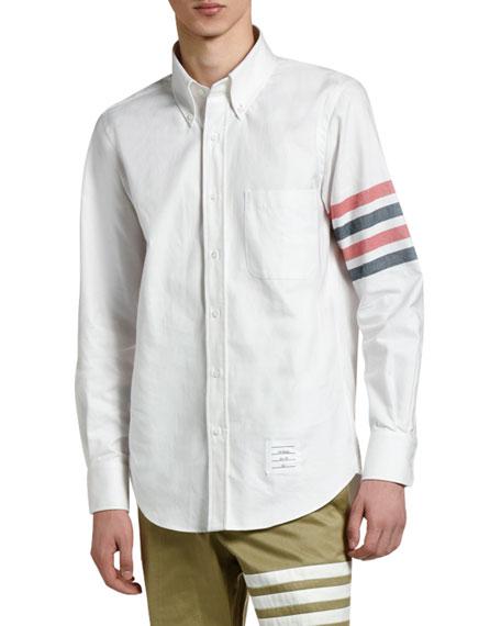 Men's 4-Stripe Classic Sport Shirt