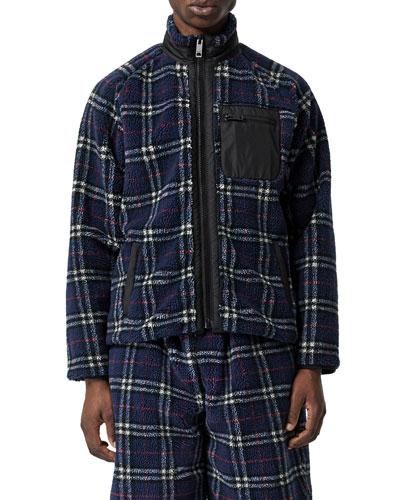 Men's Westly Zip-Up Turtleneck Sweatshirt