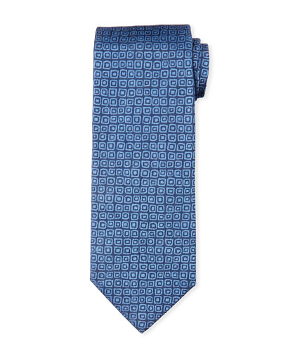 Aztec Codex Silk Tie