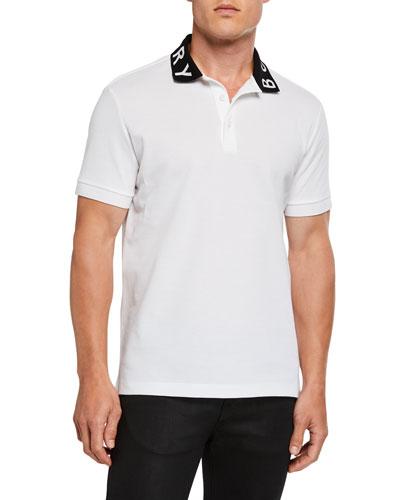 Men's Ryland Logo-Print Polo Shirt