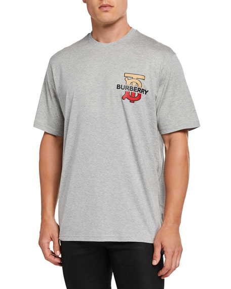 Men's Gately Logo Graphic T-Shirt, Gray