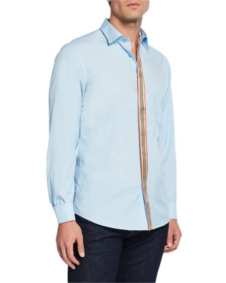 dc366748cf Burberry Men's Icon Striped Tape Oxford Shirt