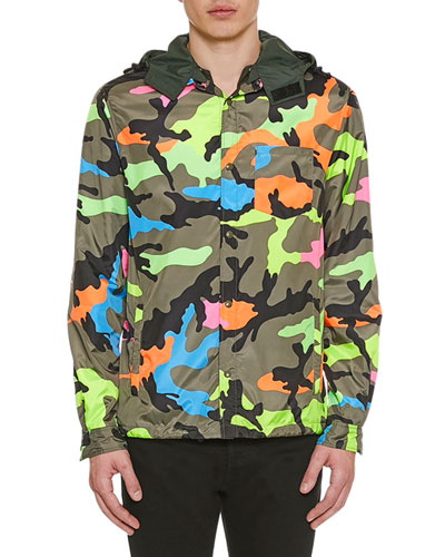 e39548b9edc45 Valentino Men's Apparel : Jackets & Sweaters at Bergdorf Goodman