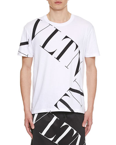 Men's Large Logo Typographic T-Shirt