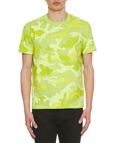 Men's Camo Crewneck T-Shirt
