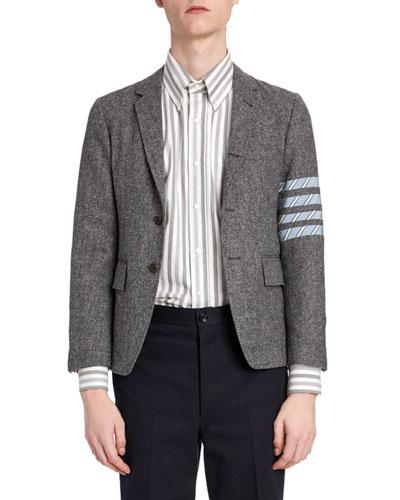 Men's Donegal Tweed Unconstructed Jacket