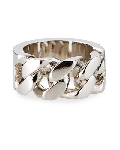 Men's Identity Chain Ring