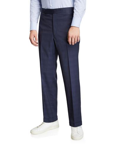Men's Martin Plaid Suit Separate Trousers