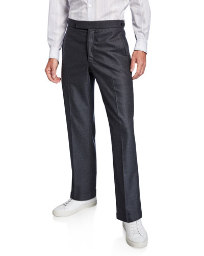 Men's Martin Flannel Straight-Leg Pants