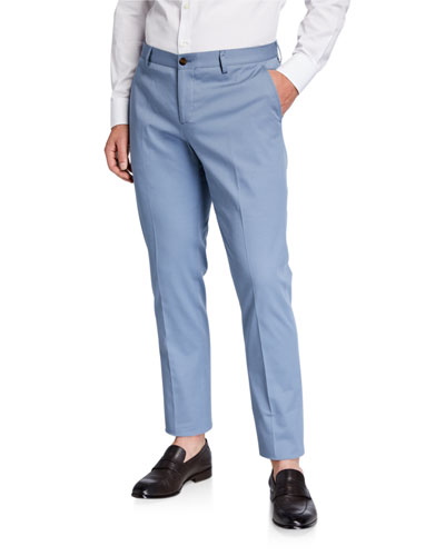 Men's Stretch-Cotton Pants