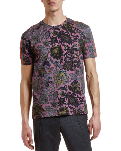 Men's Placed Paisley Graphic T-Shirt