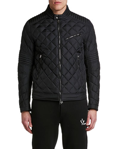 a39eedaf3a337 Men's Breitman Quilted Moto Jacket Quick Look. Moncler