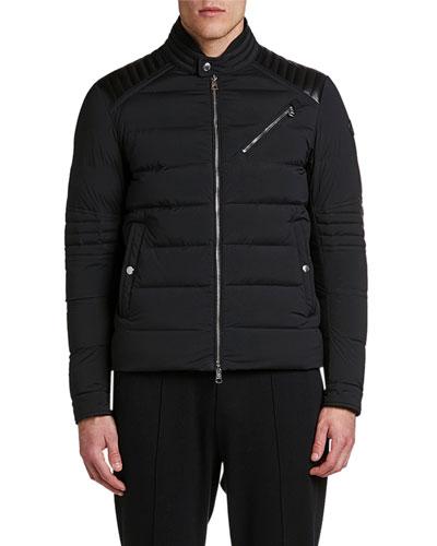 Men's Samalens Quilted Moto Jacket