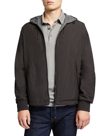 a7801c96 Men's Wind Jacket with Cashmere Lining