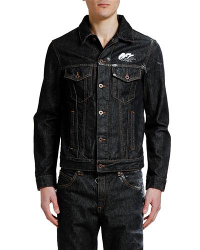 Men's Arrow Slim Denim Jacket