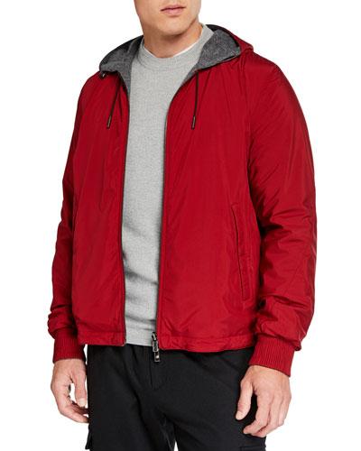 Men's Breeze Breaker Wind-Resistant Jacket