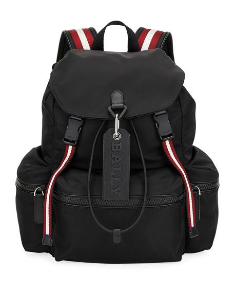 Bally Men's Crew Trainspotting-Stripe Backpack