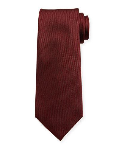 Men's Solid Silk Tie
