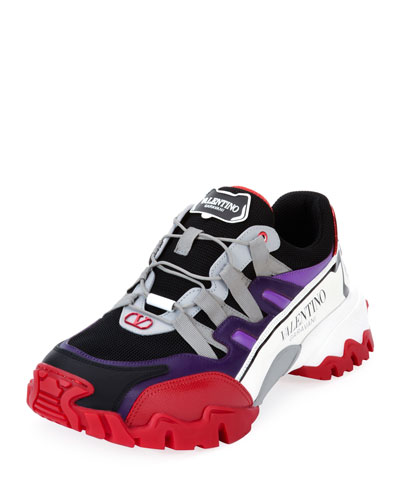 Men's Climbers Chunky Colorblock Sneakers