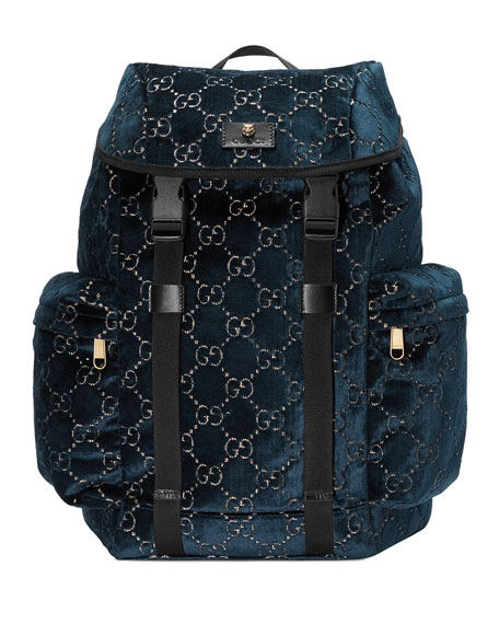 Men's GG Velvet Backpack