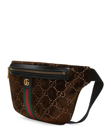 Men's GG Velvet Belt Bag